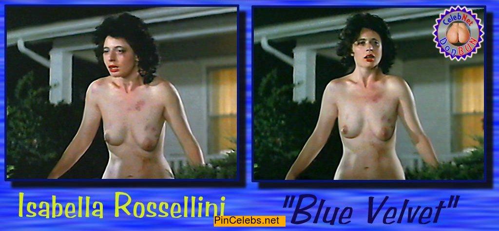 Isabella rosselini nude tits
