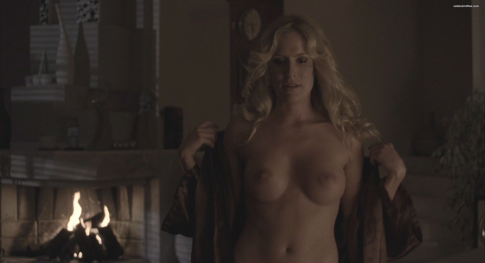 Angela Kinsey Nude Scene kinsey packard exposed her nude tits in infestation
