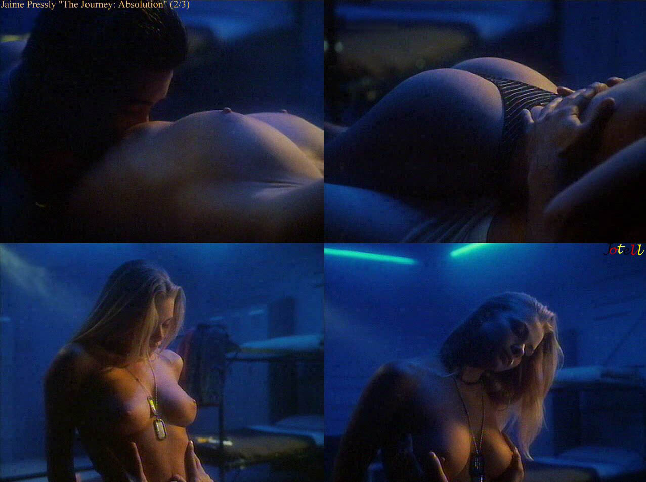 Question healthy! Jaime pressley sex scene