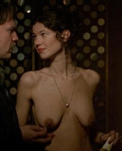 Claudie Lange  nackt