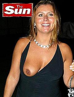Tricia penrose boob slip