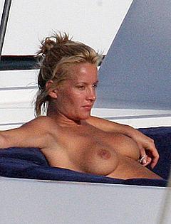 Celebrities naked sunbathing theme interesting
