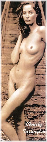 Christy nackt Turlington Christy Turlington: