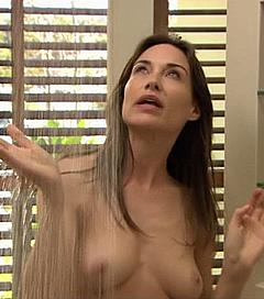 Consider, that Claire forlani shower nude really