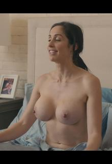 Busty Catherine Reitman topless in Workin Moms