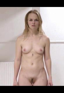 Bolette Engstrom Bjerre full frontal nude in Voyeur