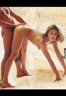 Clara Morgane fucking from the back in Kamasutra Le livre