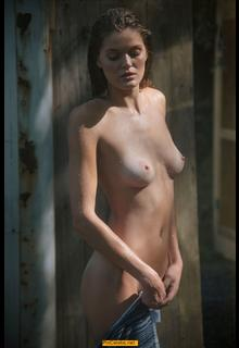 Rebekah Underhill nude and wet