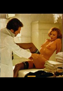 German-American actress Barbara Bouchet nude in stockings