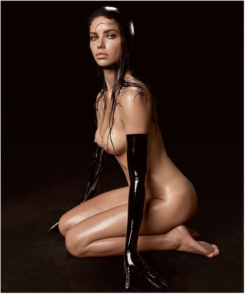 Adriana Lima Fully Naked 102