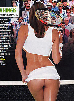 NameEx Professional Tennis Player And Her Ass -