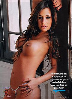 Pics Nude Larissa Riquelme