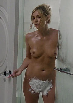 He shaves her hairy cunt after he fucks her 7