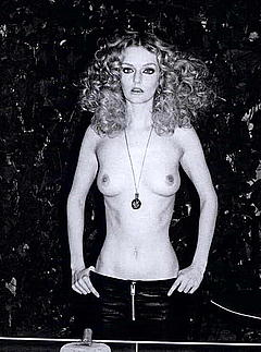 Topless Lydia hearst